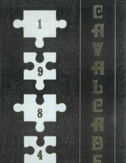 1984 Edition, Clark High School - Cavalcade Yearbook (Las Vegas, NV)