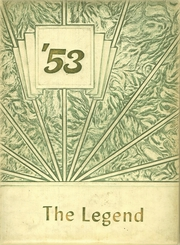 1953 Edition, Mineral County High School - Legend Yearbook (Hawthorne, NV)