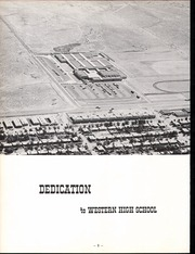 Page 6, 1962 Edition, Western High School - Epitaph Yearbook (Las Vegas, NV) online yearbook collection