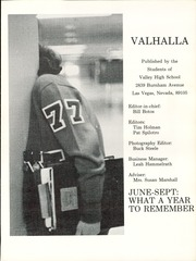 Page 5, 1977 Edition, Valley High School - Valhalla Yearbook (Las Vegas, NV) online yearbook collection
