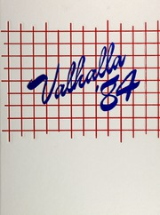 1984 Edition, Valley High School - Valhalla Yearbook (Las Vegas, NV)