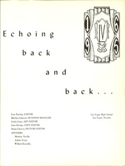Page 5, 1965 Edition, Las Vegas High School - Echo Yearbook (Las Vegas, NV) online yearbook collection