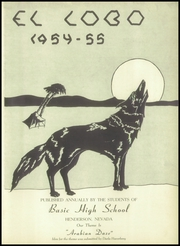 Page 7, 1955 Edition, Basic High School - El Lobo Yearbook (Henderson, NV) online yearbook collection