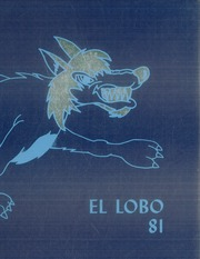 1981 Edition, Basic High School - El Lobo Yearbook (Henderson, NV)