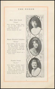 Page 15, 1919 Edition, Elko High School - Pohob Yearbook (Elko, NV) online yearbook collection