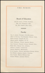 Page 8, 1919 Edition, Elko High School - Pohob Yearbook (Elko, NV) online yearbook collection