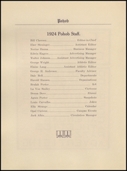 Page 16, 1924 Edition, Elko High School - Pohob Yearbook (Elko, NV) online yearbook collection