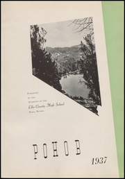 Page 5, 1937 Edition, Elko High School - Pohob Yearbook (Elko, NV) online yearbook collection