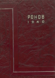 Page 1, 1940 Edition, Elko High School - Pohob Yearbook (Elko, NV) online yearbook collection