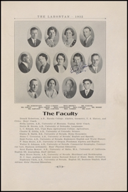 Page 11, 1932 Edition, Churchill County High School - Lahontan Yearbook (Fallon, NV) online yearbook collection