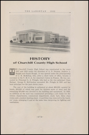 Page 15, 1932 Edition, Churchill County High School - Lahontan Yearbook (Fallon, NV) online yearbook collection