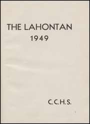 Page 5, 1949 Edition, Churchill County High School - Lahontan Yearbook (Fallon, NV) online yearbook collection