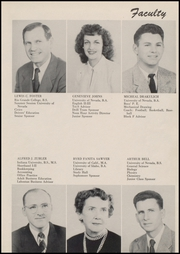 Page 13, 1952 Edition, Churchill County High School - Lahontan Yearbook (Fallon, NV) online yearbook collection