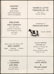 Page 147, 1959 Edition, Churchill County High School - Lahontan Yearbook (Fallon, NV) online yearbook collection