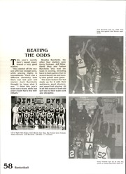 Page 62, 1987 Edition, Boulder City High School - Aquila Yearbook (Boulder City, NV) online yearbook collection