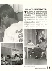 Page 69, 1987 Edition, Boulder City High School - Aquila Yearbook (Boulder City, NV) online yearbook collection