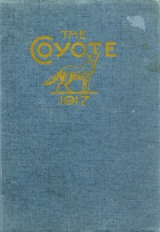 Page 1, 1917 Edition, White Pine County High School - Coyote Yearbook (Ely, NV) online yearbook collection