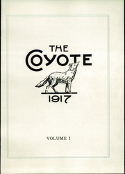 Page 5, 1917 Edition, White Pine County High School - Coyote Yearbook (Ely, NV) online yearbook collection