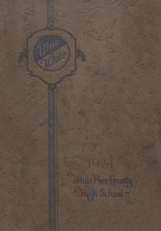 Page 1, 1924 Edition, White Pine County High School - Coyote Yearbook (Ely, NV) online yearbook collection