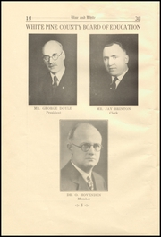 Page 12, 1930 Edition, White Pine County High School - Coyote Yearbook (Ely, NV) online yearbook collection