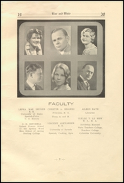 Page 13, 1930 Edition, White Pine County High School - Coyote Yearbook (Ely, NV) online yearbook collection