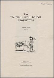 Page 5, 1917 Edition, Tonopah High School - Nugget Yearbook (Tonopah, NV) online yearbook collection