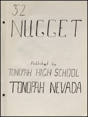 Page 5, 1952 Edition, Tonopah High School - Nugget Yearbook (Tonopah, NV) online yearbook collection