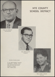 Page 8, 1957 Edition, Tonopah High School - Nugget Yearbook (Tonopah, NV) online yearbook collection