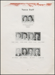 Page 10, 1944 Edition, Virgin Valley High School - Yucca Yearbook (Mesquite, NV) online yearbook collection
