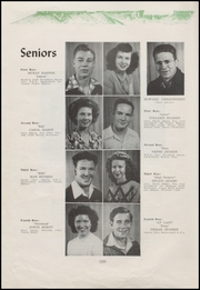 Page 12, 1948 Edition, Virgin Valley High School - Yucca Yearbook (Mesquite, NV) online yearbook collection