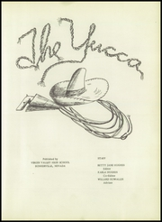 Page 7, 1951 Edition, Virgin Valley High School - Yucca Yearbook (Mesquite, NV) online yearbook collection