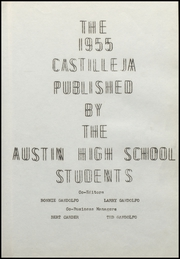 Page 5, 1955 Edition, Austin High School - Castilleja Yearbook (Austin, NV) online yearbook collection