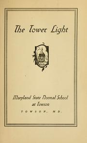 Page 7, 1934 Edition, Towson University - Tower Echoes Yearbook (Towson, MD) online yearbook collection