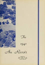 Page 7, 1941 Edition, Towson University - Tower Echoes Yearbook (Towson, MD) online yearbook collection