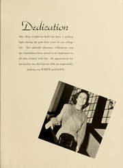 Page 9, 1948 Edition, Towson University - Tower Echoes Yearbook (Towson, MD) online yearbook collection