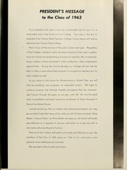 Page 15, 1963 Edition, Towson University - Tower Echoes Yearbook (Towson, MD) online yearbook collection