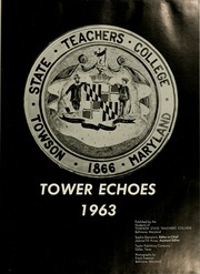Page 5, 1963 Edition, Towson University - Tower Echoes Yearbook (Towson, MD) online yearbook collection