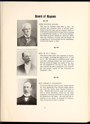 Page 13, 1899 Edition, University of Nevada - Artemisia Yearbook (Reno, NV) online yearbook collection