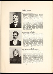 Page 15, 1899 Edition, University of Nevada - Artemisia Yearbook (Reno, NV) online yearbook collection