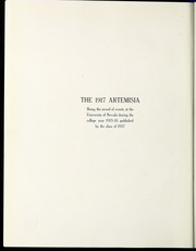 Page 12, 1917 Edition, University of Nevada - Artemisia Yearbook (Reno, NV) online yearbook collection