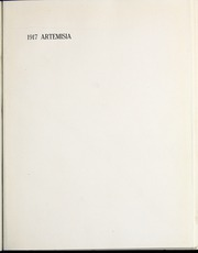 Page 9, 1917 Edition, University of Nevada - Artemisia Yearbook (Reno, NV) online yearbook collection