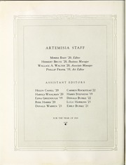 Page 12, 1919 Edition, University of Nevada - Artemisia Yearbook (Reno, NV) online yearbook collection