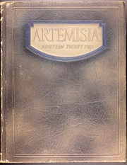 Page 1, 1922 Edition, University of Nevada - Artemisia Yearbook (Reno, NV) online yearbook collection