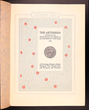 Page 5, 1922 Edition, University of Nevada - Artemisia Yearbook (Reno, NV) online yearbook collection