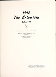 Page 5, 1943 Edition, University of Nevada - Artemisia Yearbook (Reno, NV) online yearbook collection