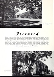 Page 10, 1945 Edition, University of Nevada - Artemisia Yearbook (Reno, NV) online yearbook collection