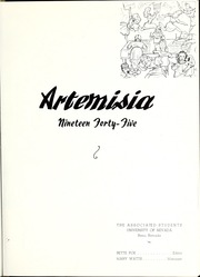 Page 5, 1945 Edition, University of Nevada - Artemisia Yearbook (Reno, NV) online yearbook collection
