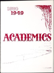 Page 16, 1949 Edition, University of Nevada - Artemisia Yearbook (Reno, NV) online yearbook collection