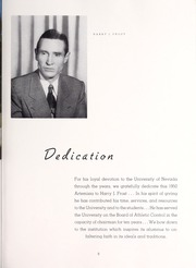 Page 13, 1950 Edition, University of Nevada - Artemisia Yearbook (Reno, NV) online yearbook collection