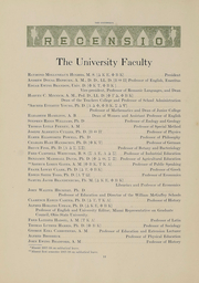 Page 14, 1918 Edition, Miami University - Recensio Yearbook (Oxford, OH) online yearbook collection